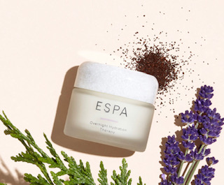 E'spa Overnight Hydration Therapy - contains Hyaluronic Acid an essential ingredients for dry & itchy skin
