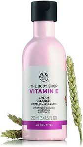 The Body Shop Vitamin E cleanser - the best budget cleanser