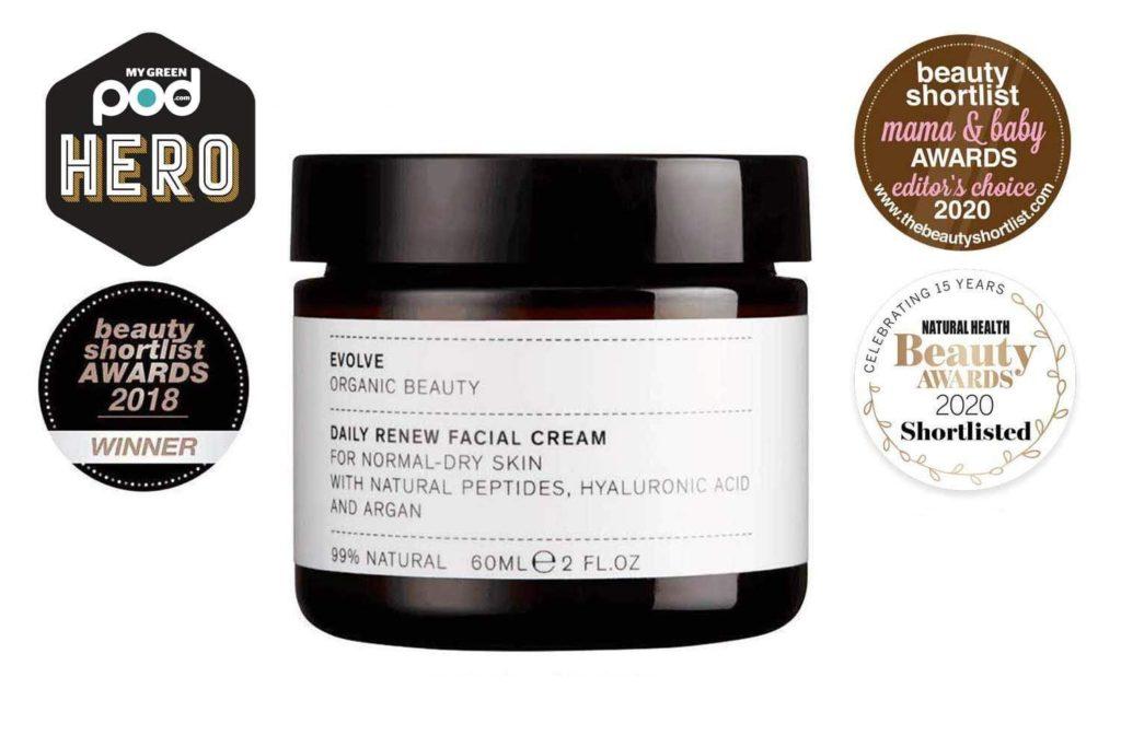 Evolve facial cream